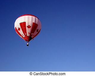 caldo, balloon, aria