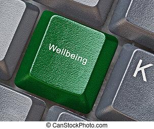 caldo, chiave, per, wellbeing