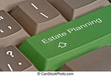 caldo, pianificazione, chiave, proprietà, tastiera