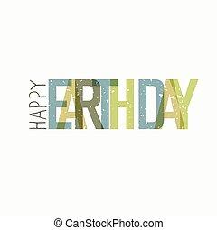 calebration, typography., minimalistic, 背景, 地球, ロゴ, 白, 日, celebration.