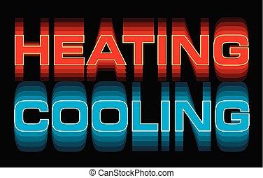 calefacción, enfriamiento