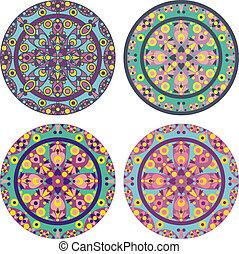 caleidoskope mandala set