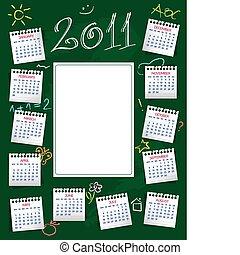 calendário, 2011