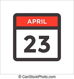 calendário, pretas, ícone, w vermelho, dia, mês