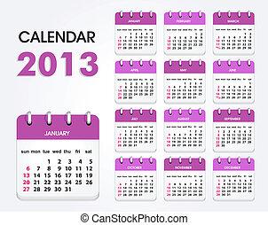 calendar 2013 new