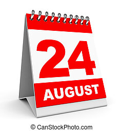 24 August