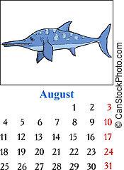 Calendar, August 2014