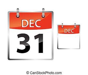 Calendar Date December 31
