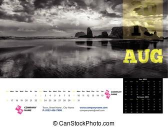 Calendar Desk 2015