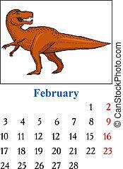 Calendar, February 2014