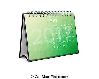 Calendar for 2017 august