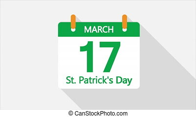 calendar for march 17 st patricks day - Calendar for march ...
