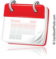Calendar, icon