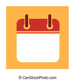 Calendar Icon Illustration design