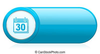calendar icon organizer sign