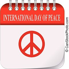 Calendar International Day of Peace