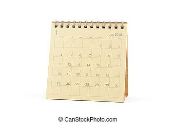 Calendar - January 2010