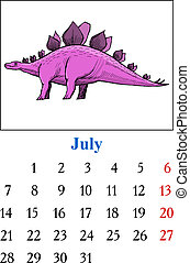 Calendar, July 2014