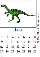 Calendar, June 2014