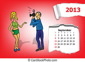 Calendar month of September.
