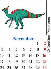 Calendar, November 2014