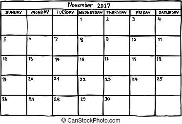 Calendario Vector Blanco.Calendar May 2018 Vector Illustration Sketch Hand Drawn