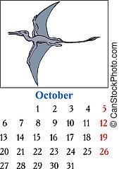 Calendar, October 2014