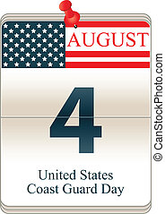 Calendar of United States Coast Guard Day