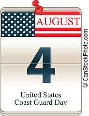 Calendar of United States Coast Guard Day