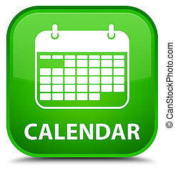 Calendar special green square button