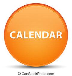 Calendar special orange round button