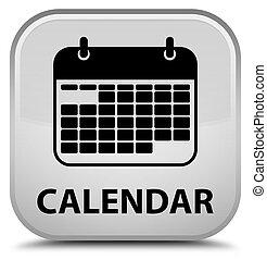 Calendar special white square button