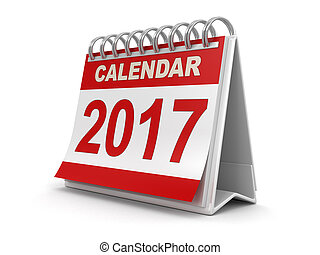 Calendar year 2017 image