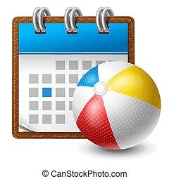 calendario, deporte