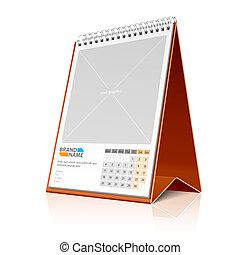 calendario, desktop