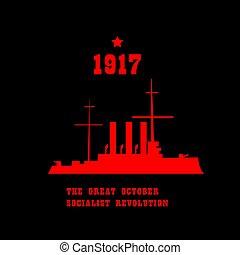 calendario, rivoluzione russa, conciliarsi, ottobre, julian, 7, incrociatore, calendario, novembre, aurora, colpo, 25, insurgent, gregorian, 1917, began