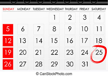 calender for reminder - illustration of calender with date ...