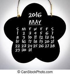 calendrier, 2016, année