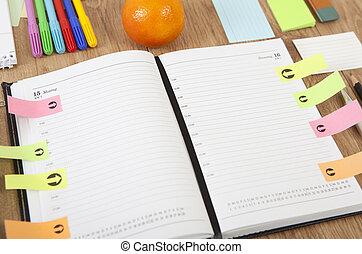 calendrier, bureau