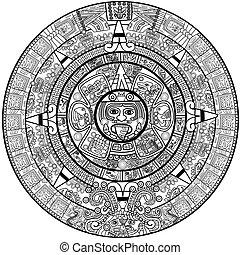 calendrier, maya