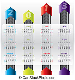 calendrier, technologie, 2013