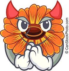 calendula , γουρλίτικο ζώο , διάβολοs , ακμάζω ανακόπτω