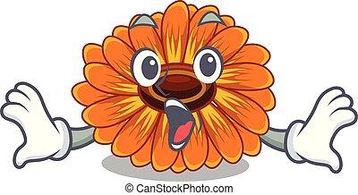 calendula , γουρλίτικο ζώο , λουλούδι , έκπληκτος , ανακόπτω