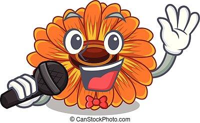 calendula , γουρλίτικο ζώο , λουλούδι , τραγούδι , ανακόπτω