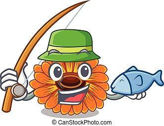 calendula , γουρλίτικο ζώο , λουλούδι , ψάρεμα , ανακόπτω