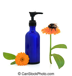 Calendula Cream and Bumble Bee