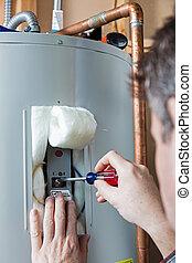 calentador de agua, mantenimiento