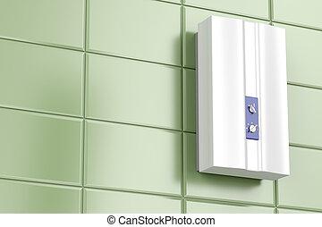 calentador de agua, tankless