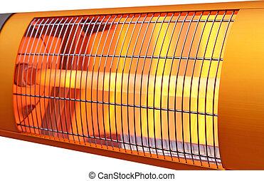 calentador, infrarrojo