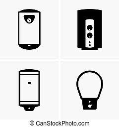 calentadores de agua, eléctrico